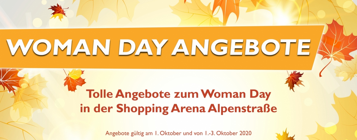 Header Website Woman Day Angebote